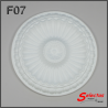 Rosone polistirolo F07