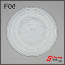 Rosone polistirolo F06