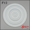 Rosone polistirolo F12