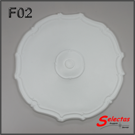 Rosone polistirolo F02