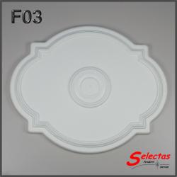 Rosone polistirolo F03