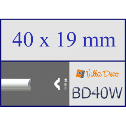 Listello polistirolo BD40W