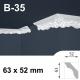 Cornice polistirolo B-35