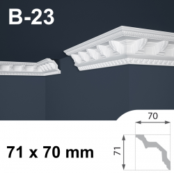 Cornice polistirolo B-23