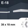 Listello polistirene E-18