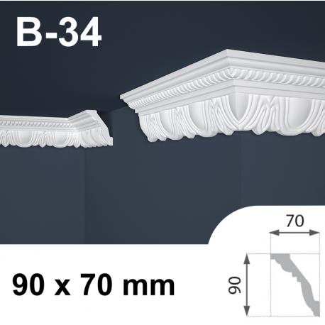 Cornice polistirolo B-34